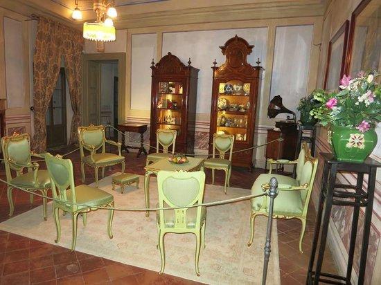 Museo e Fondazione Palazzo Bondoni Pastorio: sala liberty dedicata alla famiglia Tellera