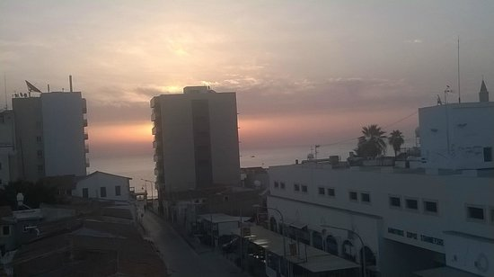 Livadhiotis City Hotel: vista dal balcone della camera