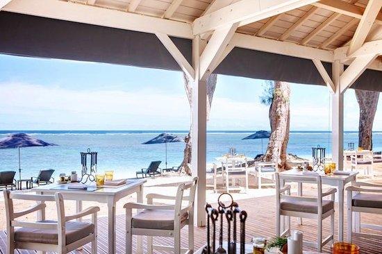 restaurant la plage photo de lux saint gilles saint gilles les bains tripadvisor. Black Bedroom Furniture Sets. Home Design Ideas