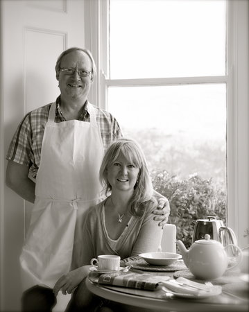 Bindon Bottom B&B : Lisa & Clive, your hosts