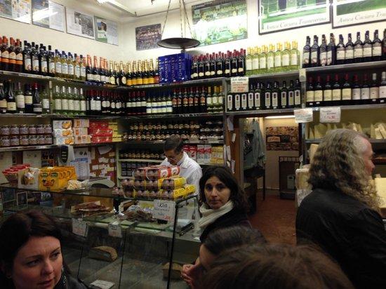 Eating Italy Food Tours: Cheese - Antica Caciara