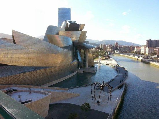 Guggenheim-Museum Bilbao: From the bridge