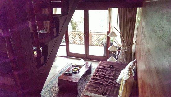 Kupu Kupu Barong Villas and Tree Spa: Ground floor living area in villa 3