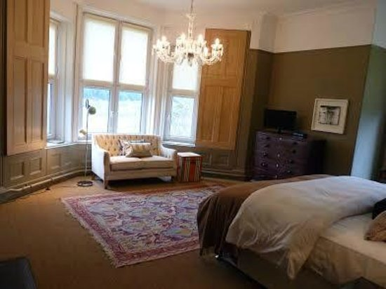 Ffin y Parc Country House: A room with a view