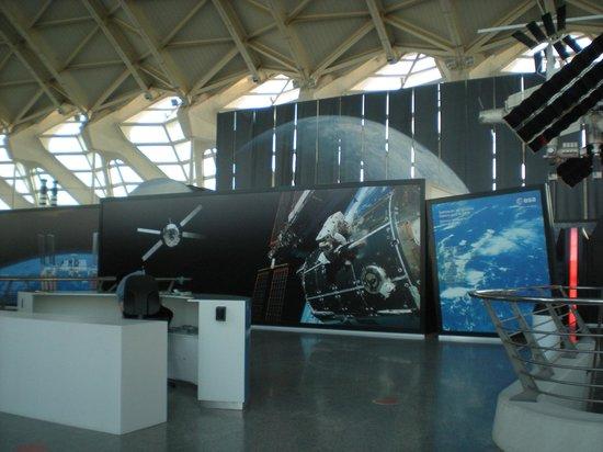Principe Felipe Science Museum: padiglione spaziale