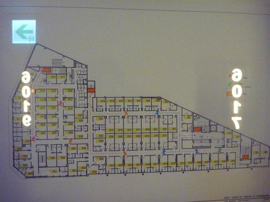 CU Hotel Taipei Branch: 2階 見取り図