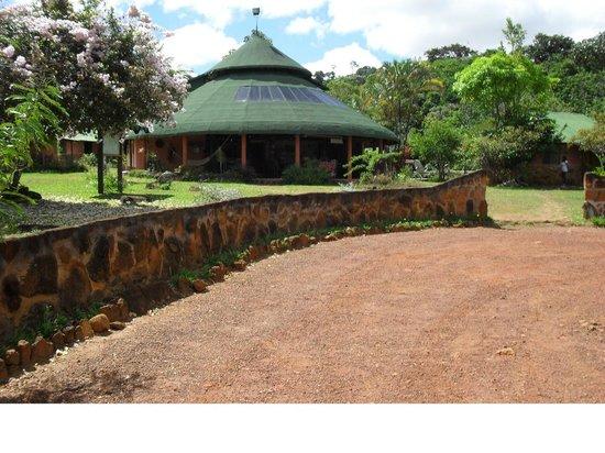 ecologicol lodge Ya-koo c.a. : Das ist das Haupthaus im Campamento Yakoo