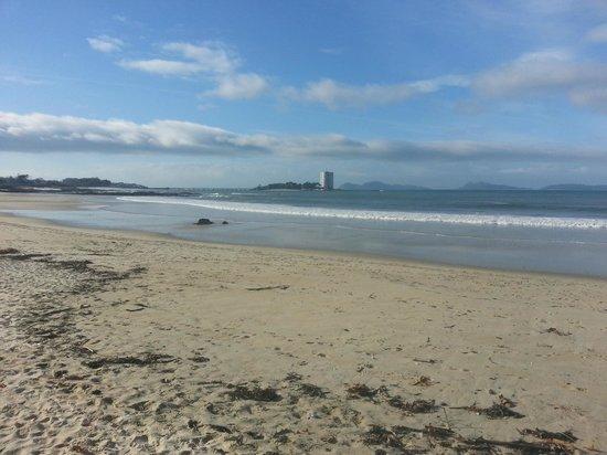 Playa Samil: Samil vista hacia el atlantico