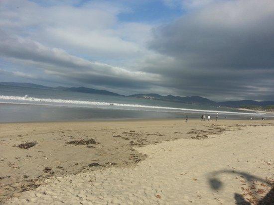Playa Samil: Samil vista hacia morrazo
