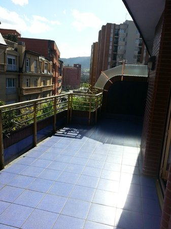 NH Bilbao Deusto : terrace