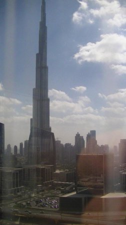 Dusit  Thani Dubai : view from room 2