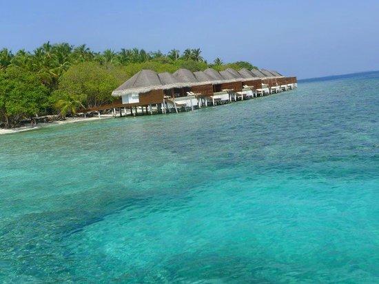 Dusit Thani Maldives: Villas by the sea !