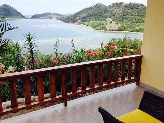 Golo Hilltop Hotel & Restaurant: Room terrace