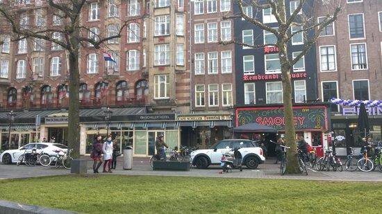 NH Amsterdam Schiller: The hotel & Smokey's Coffee Shop
