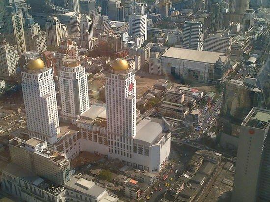 Baiyoke Sky Hotel: vista