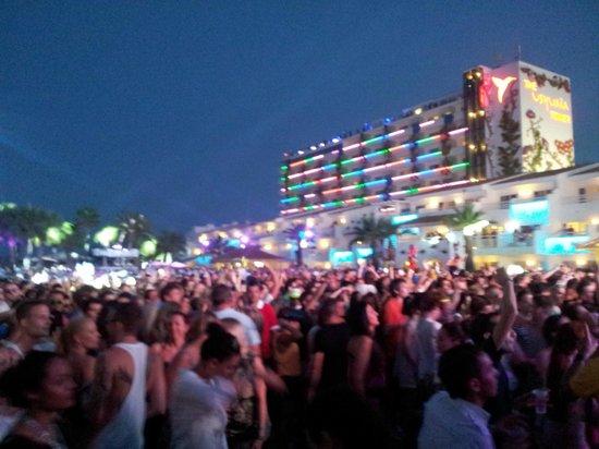 Ushuaia Ibiza Beach Club: Início da noite