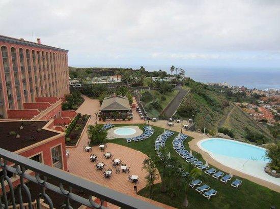 Hotel Las Aguilas: Aussicht