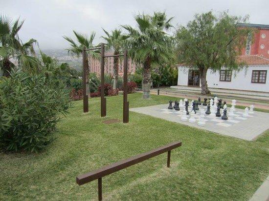 Hotel Las Aguilas : Hotelgarten