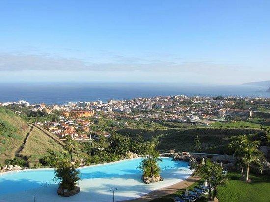 Hotel Las Aguilas : Blick vom Balkon