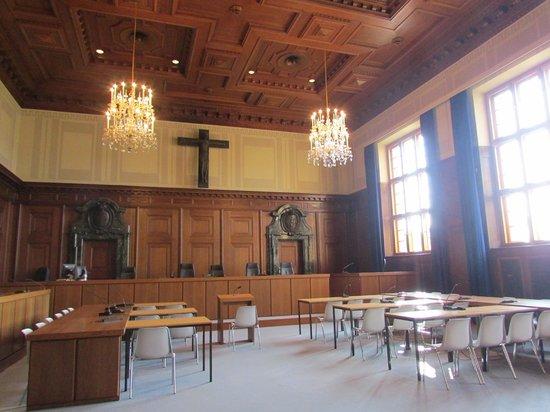 courtroom 600 picture of nuremberg palace of justice justizpalast nuremberg tripadvisor. Black Bedroom Furniture Sets. Home Design Ideas