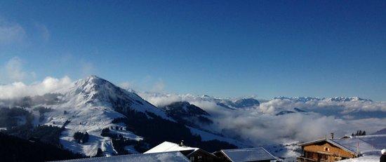 Hotel Tyrol am Wilden Kaiser: View from top of Scheffau