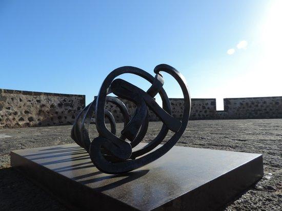 Museo Internacional de Arte Contemporaneo. Castillo de San Jose: Detalle en la azotea