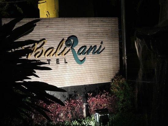 Bali Rani Hotel: Hotel