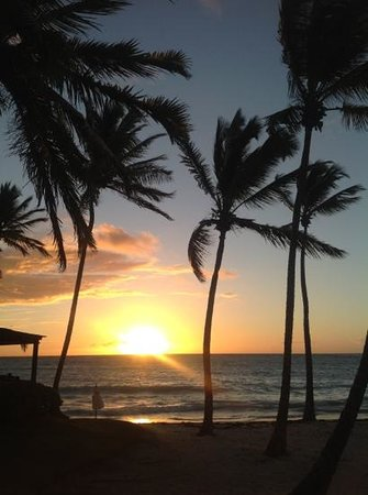 Sanctuary Cap Cana by AlSol: sunrise from our deck