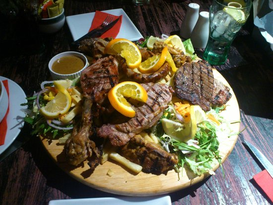 Boteco Do Brasil: mixed grill