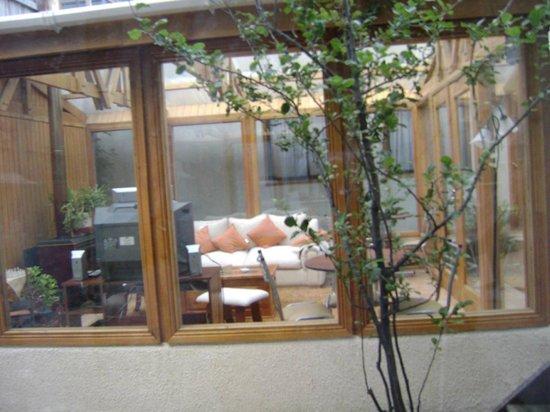 Chalet Chapital Hotel: Sala de estar del Chalet Chapital