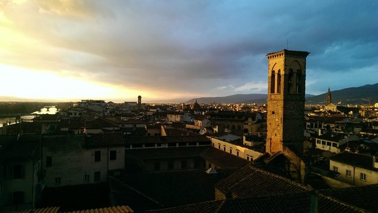 Antica Torre di Via Tornabuoni: View from the amazing roof terrace
