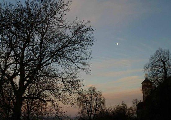Marienburg Fortress: Anoitecer na Fortaleza de Marienburg