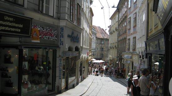 Sporgasse: Старинная улочка