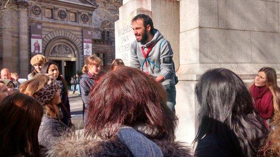SANDEMANs NEW Europe - London: Manel en plena faena