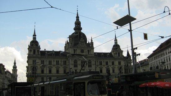 Sporgasse: Грац - трамвайный город