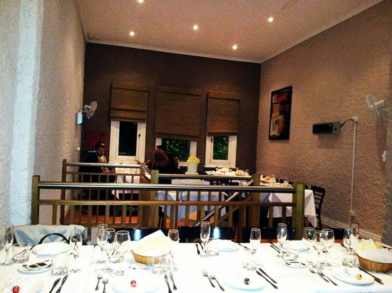 Carlton Curry House : Upstairs function room!