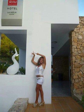 Hotel Riu La Mola : Riuuuuuu :))))