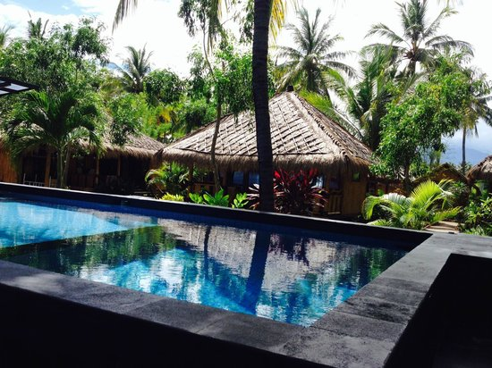 Rinjani Beach Eco Resort: Pool