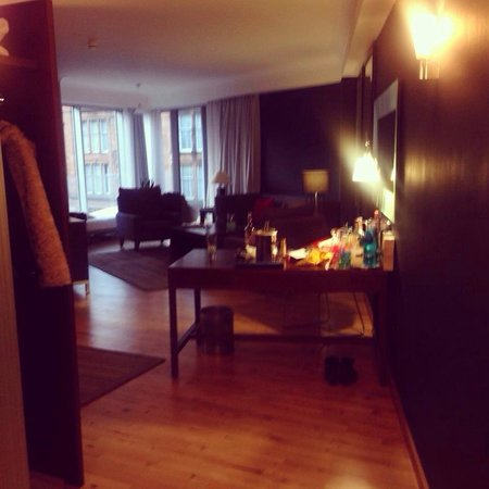 Radisson Blu Hotel, Glasgow: Corner suit lovely