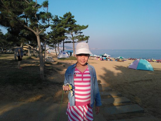 Weihai International Bathing Beach: 早晨