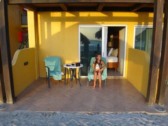 Tamarijn Aruba All Inclusive: Patio de la habitación en planta baja