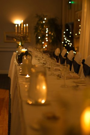 Mill Park Hotel: top table