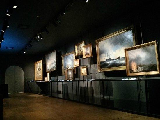 Het Scheepvaartmuseum: galerie d'art