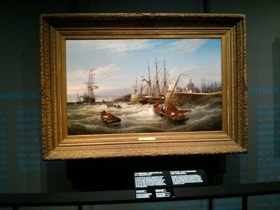 Het Scheepvaartmuseum: tableau