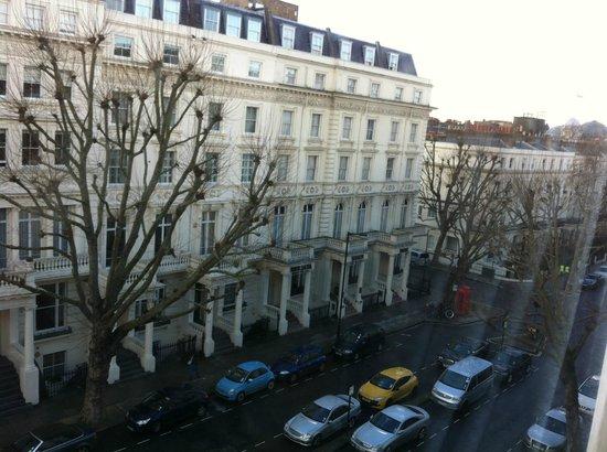 Hyde Park Suites: Vista do nosso quarto
