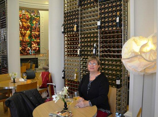 Bar a vins Ecole du vin a Bordeaux : w sauternes
