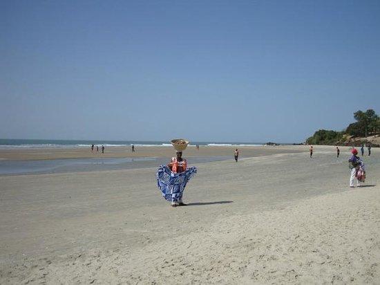 Club Med Cap Skirring: marée basse