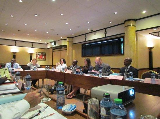 Nairobi Serena Hotel : Meeting room