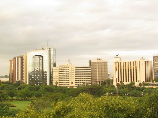 Nairobi Serena Hotel: View from my room on the 6th floor
