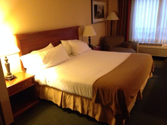 Holiday Inn Express Tehachapi Hwy 58 / Mill Street: King suite bed